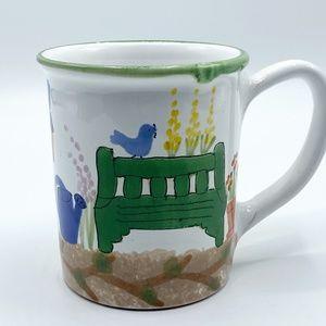 Starbucks Rare Handpainted in Hungary Coffee Mug